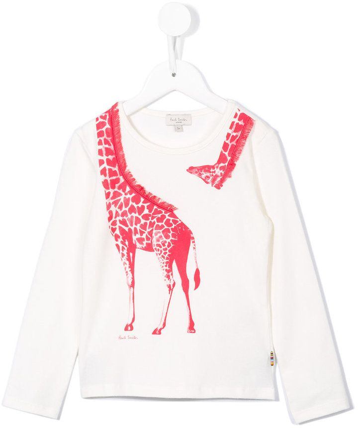 Paul Smith giraffe print T-shirt