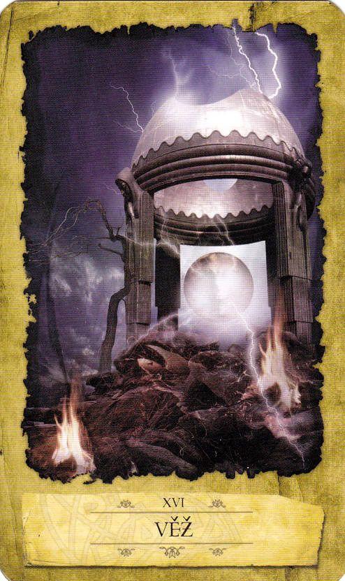 The Tower - Mystic Dreamer Tarot