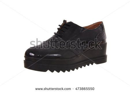 Woman shoe isolated on white background