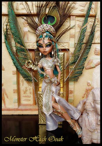 Egyptian Goddes Monster High OOAK