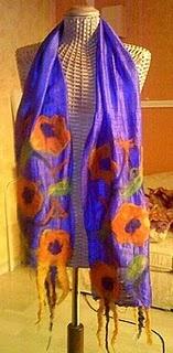 Nunofelt scarves