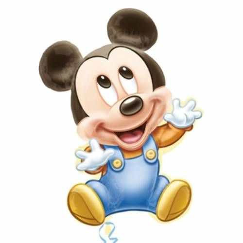 Folieballon Baby Mickey Mouse