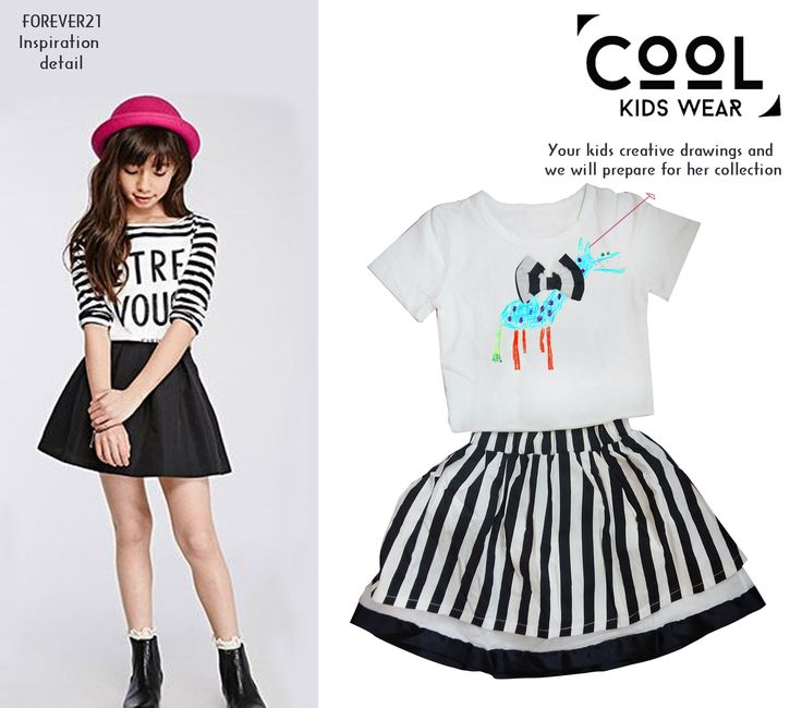 Your kid's creative own drawings and we will prepare for them collection.Pick some of your kid's best drawings and scan them at high resolution and send us.@coolwearkids ‪#‎kidstrend‬ ‪#‎kidsfashion‬ ‪#‎kidswear‬ ‪#‎coolkidswear‬