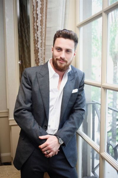 """Aaron Taylor-Johnson at """"Nocturnal Animals"""" Los Angeles photocall"""