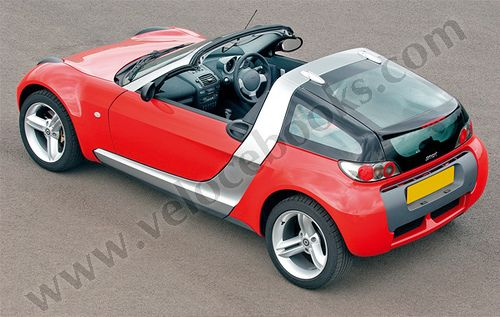 smart Roadster Coupe | Image taken from the little book of s… | Flickr