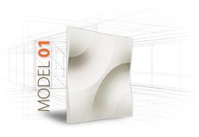 LOFT 3D-paneeli, malli 01 www.dekotuote.fi