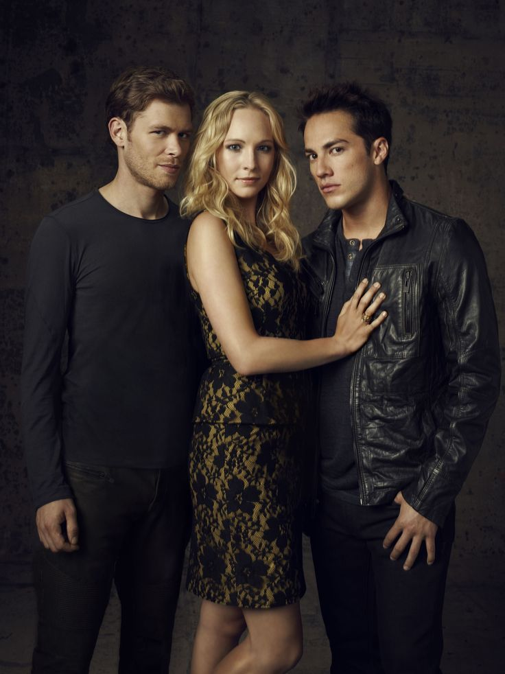 In my opinion, this is the love triangle in the show that really has me conflicted. Why does Caroline have to look so cute with every guy.