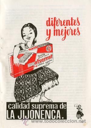 Página Publicidad *Turrón MONTSERRAT. LA JIJONENCA*  Jijona. De La Industrial Turronera - Año 1961