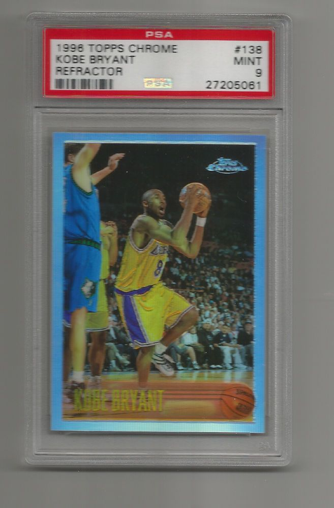 KOBE BRYANT 1996-97 TOPPS CHROME REFRACTOR ROOKIE CARD! PSA 9 ! SHOULD B 10! | Sports Mem, Cards & Fan Shop, Sports Trading Cards, Basketball Cards | eBay!