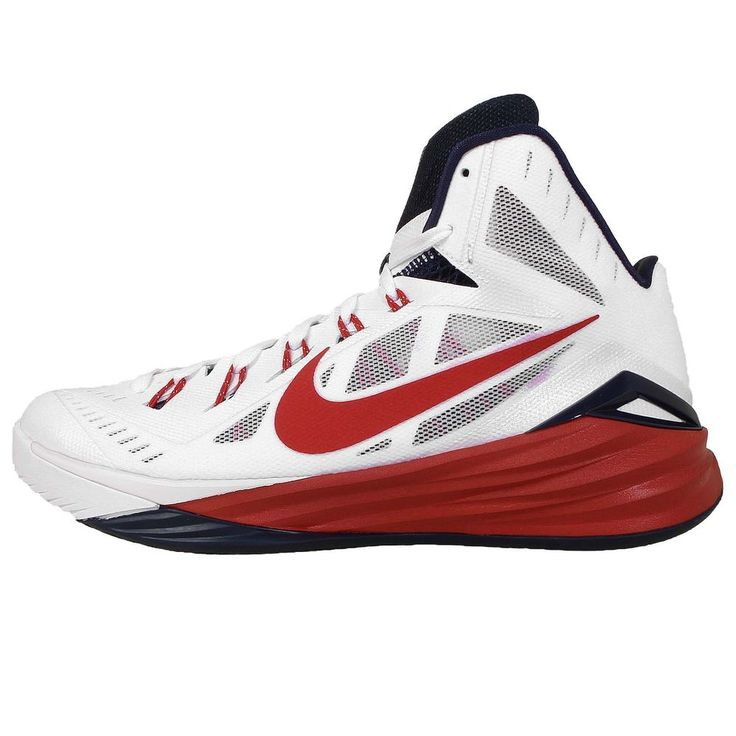 Nike Basketball Shoes Red And White