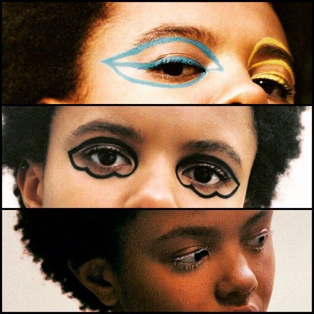 #PoppyOkotcha has the best eye makeup.......#makeupinspo