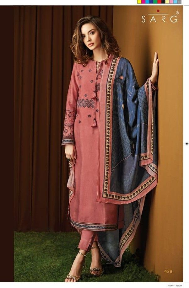 Salwar Kameez with Plazo Indian Bollywood Fancy Look ethnic Design Party Wear PV
