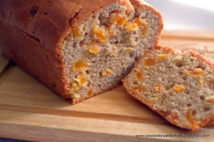 Lightly Spiced Apricot Loaf
