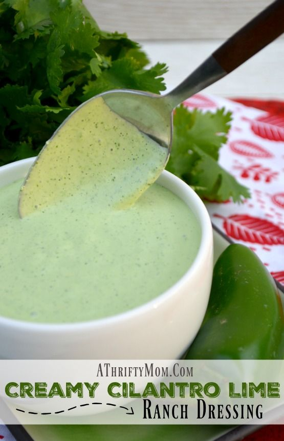 Creamy cilantro lime ranch dressing recipe, like Cafe Rio or Costa Vita copycat version, the best ranch dressing you will ever eat, salad dressing recipe with a mexican twist