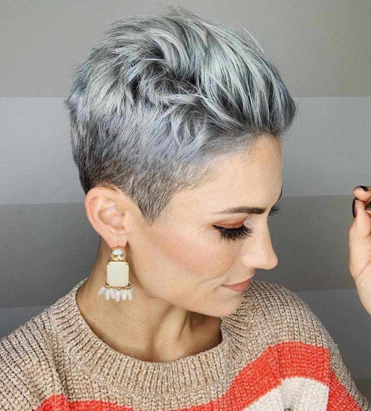 50 Pixie Short Haircuts for Women 2018-2019 -  #Hair #pixiehair #shorthair #shorthaircut - Short Hairstyles - Hairstyles 2019