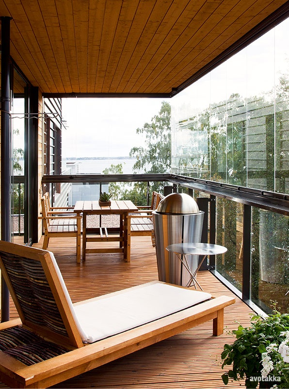 Parveke vai terassi? / A balcony or a terrace? Pinned from another user.