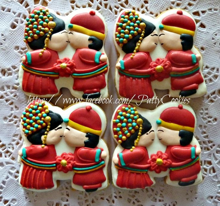 251 Best Images About Wedding Cookies & Ideas... On