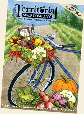 Seed Catalogs: Territorial Seed Co.
