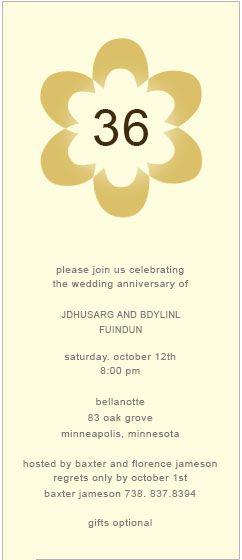 22 best Anniversary Invitations images on Pinterest Invitation - invitation template publisher