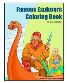 coloring pages of famous explorers - photo#12