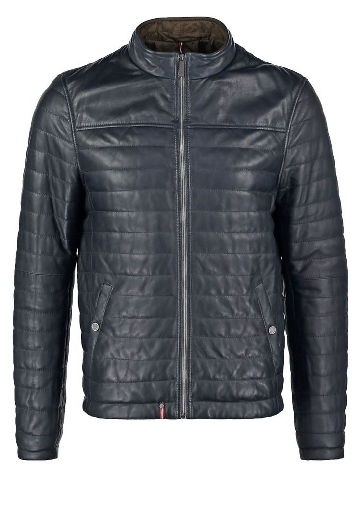 Oakwood Lederjacke navy blue Bekleidung bei Zalando.de | Material Oberstoff: 100% Leder | Bekleidung jetzt versandkostenfrei bei Zalando.de bestellen!