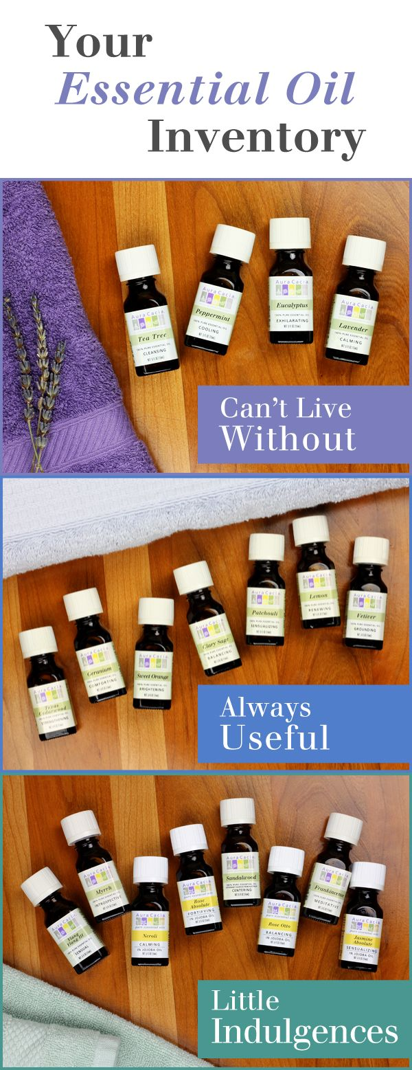 How to build your essential oil collection #aromatherapy