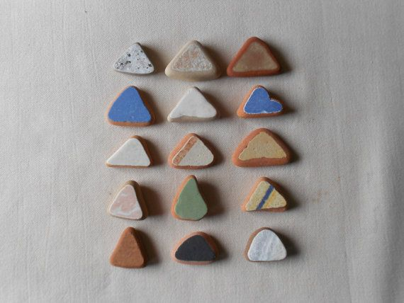 Sea pottery materiali un mix di colori  per di lepropostedimari, €12.00