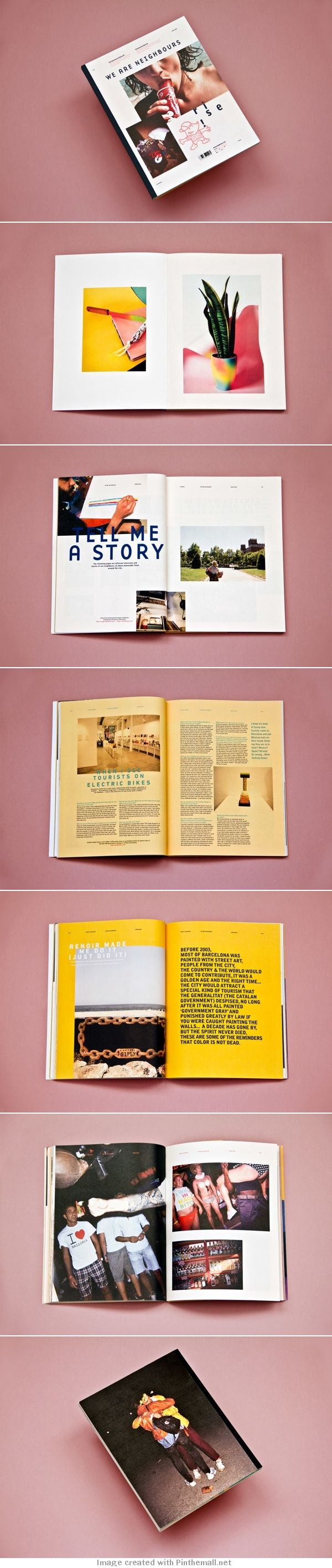 layout / magazine / design