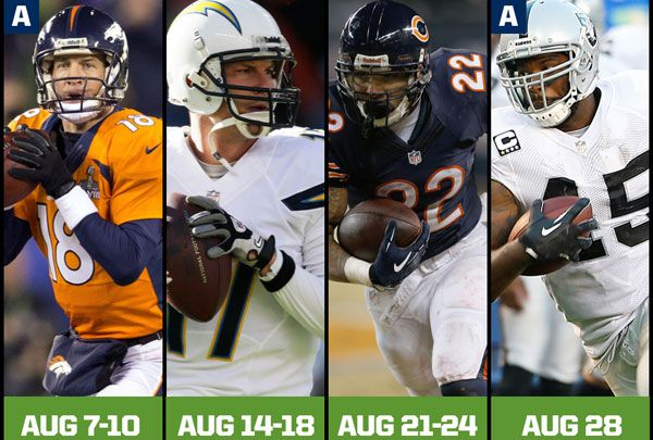 Seahawks preseason schedule announced, features Super Bowl rematch with Denver Broncos - (Who's betting with me that the Broncos play Peyton ALL GAME LONG?)