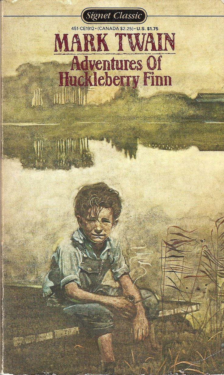 Mark Twain The Adventures Of Huckleberry Finn Huck, The Disreputable Boy In