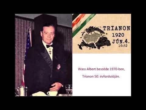 Wass Albert beszéde Trianon 50. évfordulóján - YouTube ...