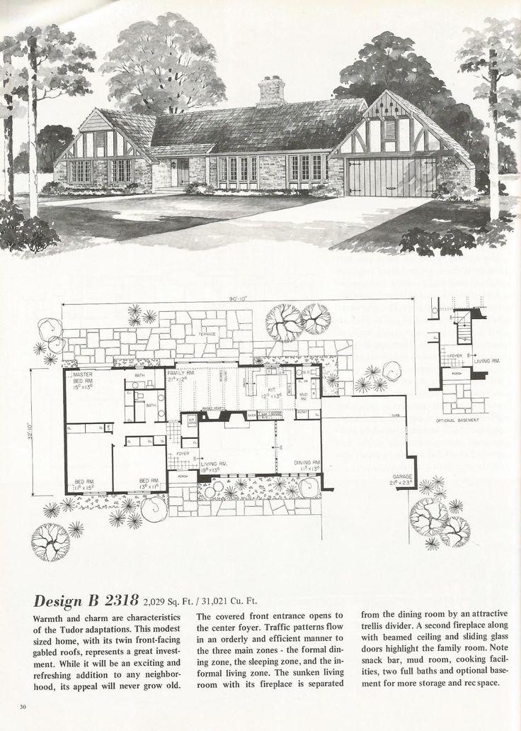 1000 ideas about vintage house plans on pinterest for Antique house plans