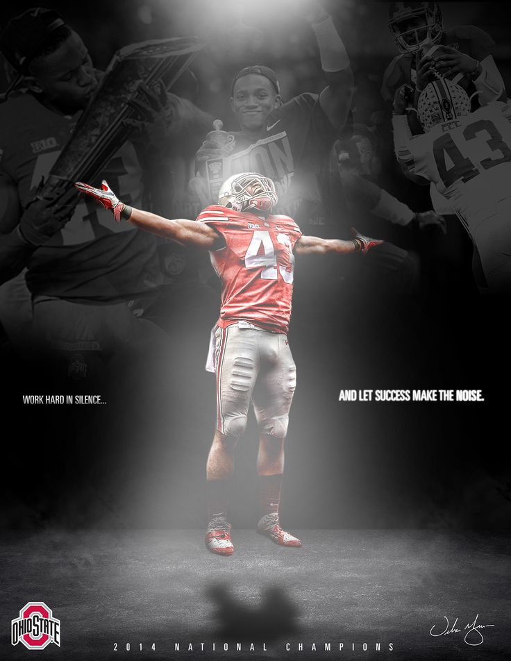 DARRON LEE WORK HARD IN SILENCE, AND LET SUCCESS MAKE THE NOISE-BY CARL HARRIS.