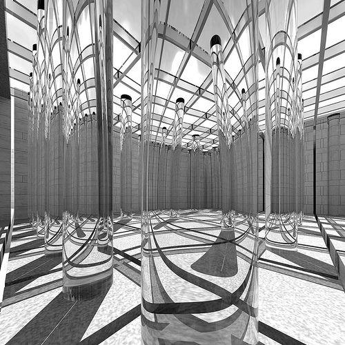 Danteum 5 (digital reconstruction) - Terragni