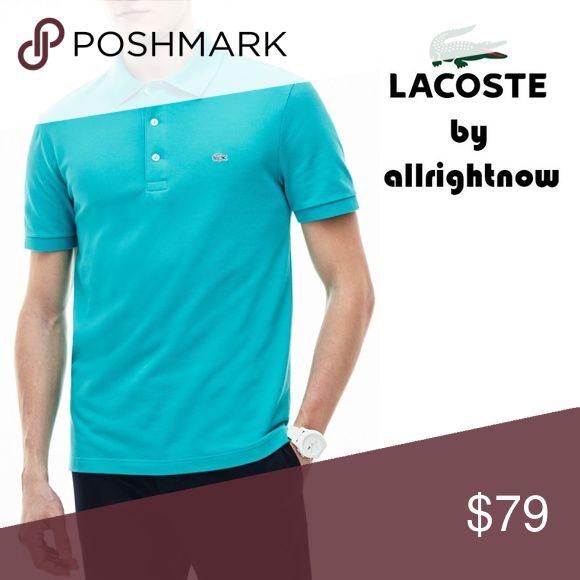 69f6a6e7c Lacoste Men s 4XL NWT Blue Polo Shirt 100% Cotton Mesh MODEL  Bermuda 08H  (Greenish Blue) Kindly Google for the correct shade Colors…