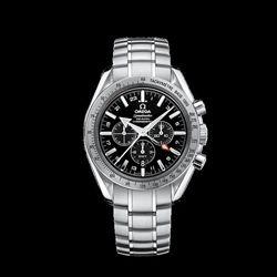 Omega Broad Arrow Co-Axial GMT Chronograph 3581.50.00