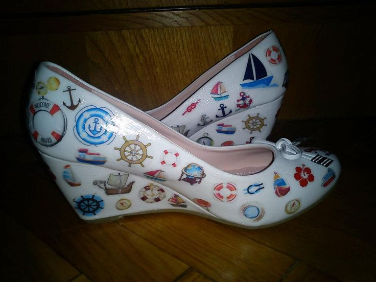 Decoupage shoe