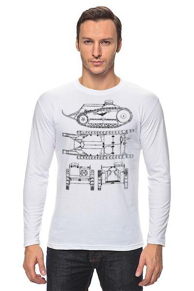 """Лонгслив """"World of Tanks"""" от Кашкет"""