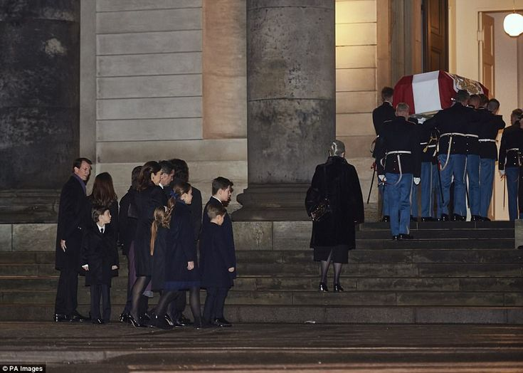 Across the country, Danish flags were at half-mast and gun salutes echoed through the capital at dawn, in honour of Henrik