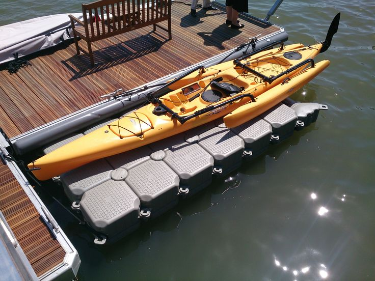 FloatBricks Kayak Docks   DOCKPRO