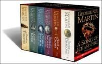 A Song of Ice and Fire, 6 volumes: A Game of Thrones/A Clash of Kings/A Storm of Swords; Steel and Snow/A Storm of Swords: Blood and Gold/A ...