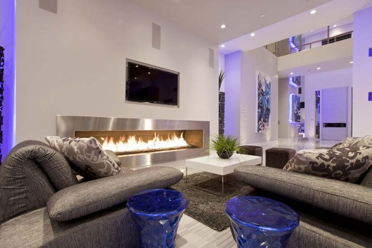 Room Design And Decoration Part - 15: 15 Delightful Living Room Design Full With Inspiration | Interior Design U0026  Decorating | Pinterest | Fireplaces, Gray Sofa And House
