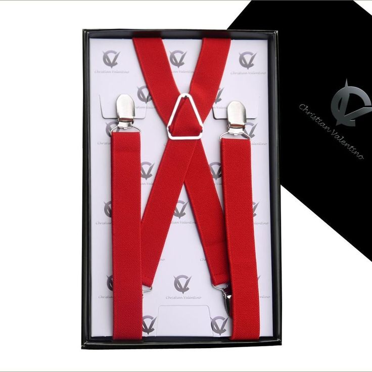 Men's Red X2.5cm Extra Large Braces. Style : Standard / Regular.   eBay!