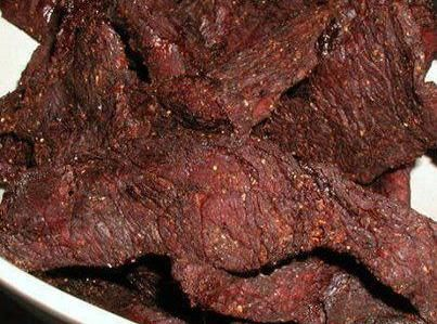 Beef Jerky can be left in the marinade for a couple days and then dried using a dehydrator