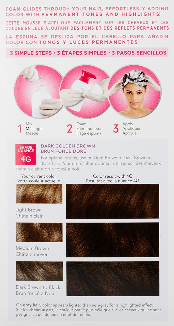 Clairol Nice 'n Easy Foam Hair Color 4G Dark Golden Brown 1 Kit -- To view further for this article, visit the image link. #hairoftheday