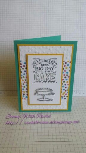 Stampin up 2015 sale a bration big day stamp set, painted blooms dsp.