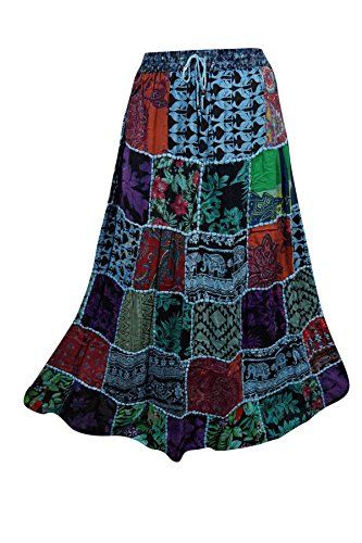 Womens Patchwork Skirt Blue Printed Bohemian Ethnic Festi... https://www.amazon.ca/dp/B071V9JHJH/ref=cm_sw_r_pi_dp_x_aJyczbW3EYJGW