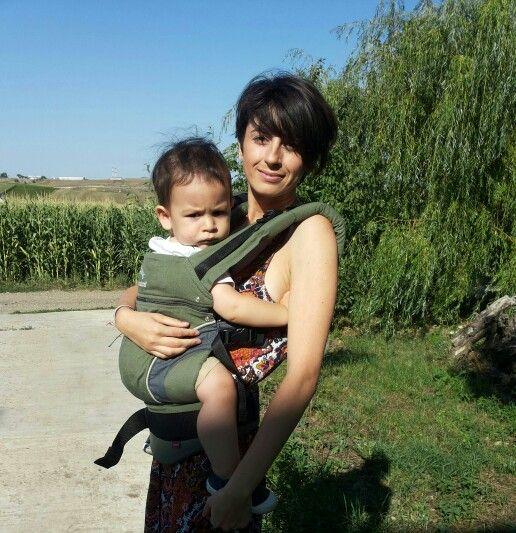 ♡ babywearing Manduca new style olive