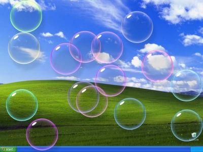 Burbujas 3d protectores de pantalla screensavers for Protector de pantalla en movimiento