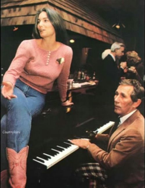 Miss Emmylou Harris and Chet Atkins